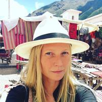 Gwyneth Paltrow de visita en Cuzco