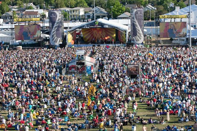 New Orleans Jazz & Heritage Festival - Portal Luna de Miel