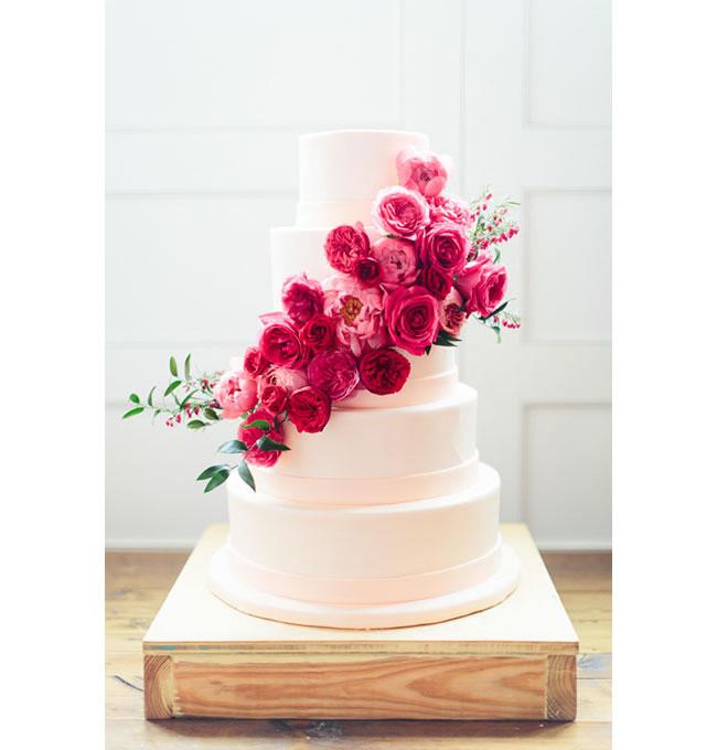 Torta De Bodas Floral - Portal Luna de Miel