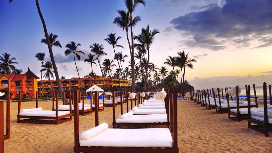 El caribe es un destino ideal para viaje de novios