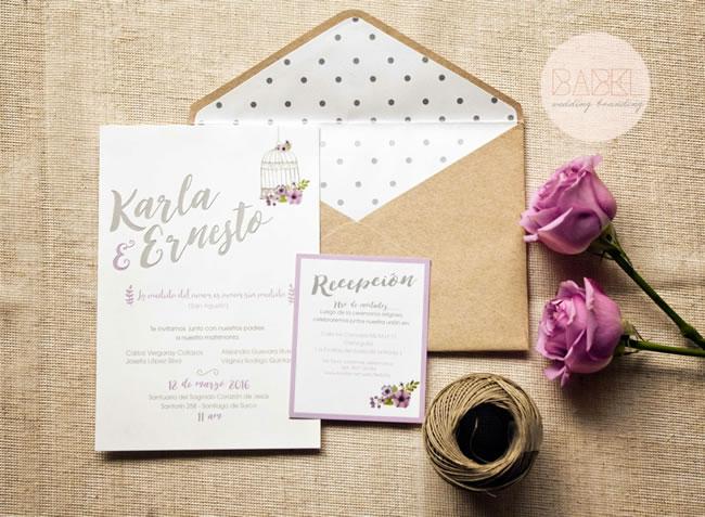 Invitaciones Para Matrimonios - Portal Luna de Miel