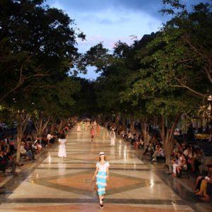 El desfile de Chanel en Cuba