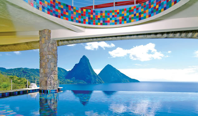 Hotel Romantico Jade Mountain Resort