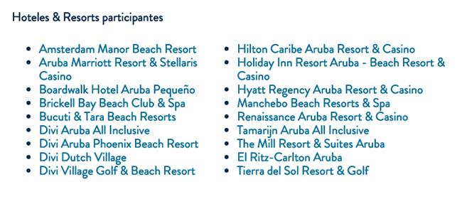 Hoteles Y Resorts En Aruba - Portal Luna de Miel