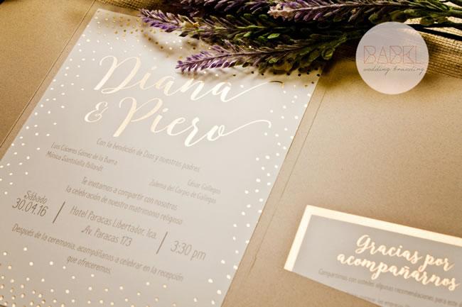 Invitaciones De Babel Wedding Branding - Portal Luna de Miel