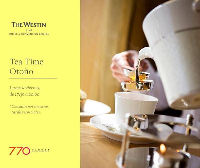 Tea Time En El Westin - Portal Luna de Miel