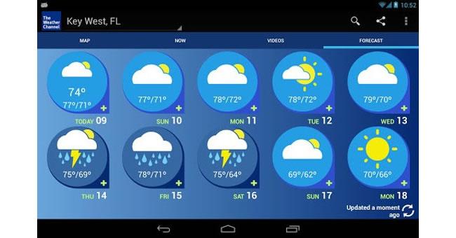 The Weather Channel - Portal Luna de Miel