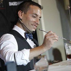 Joel Chirinos, el mejor bartender del Perú