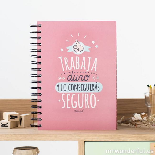 Libreta De Mr. Wonderful - Portal Luna de Miel