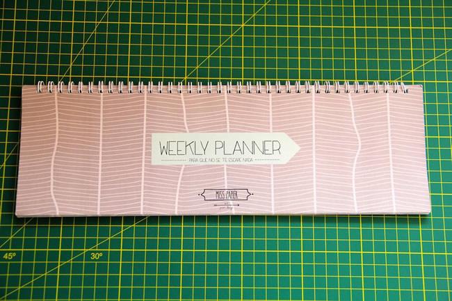Weekly Planner - Portal Luna de Miel