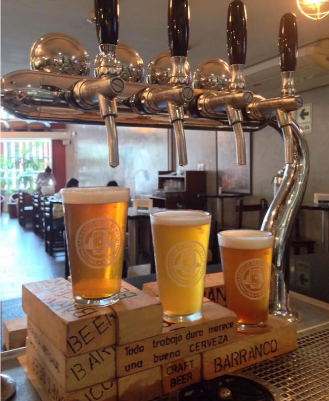 Barranco Beer Company - Portal Luna de Miel