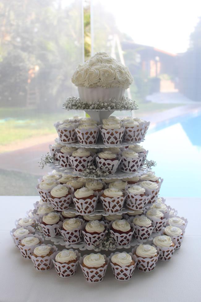 Torta De Cupcakes Para Novias - Portal Luna de Miel