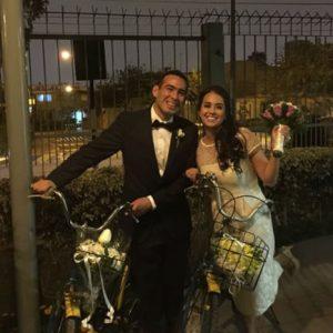 Un matrimonio en bicicleta