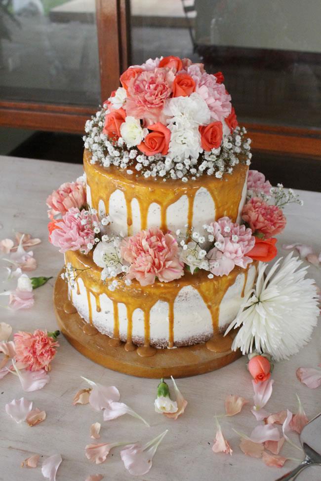 Wedding Drip Cake - Portal Luna de Miel
