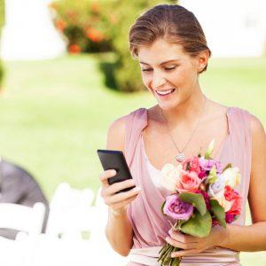 ¡Busca inspiración para tu boda en Instagram!