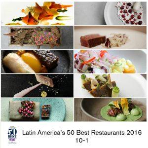 Los mejores restaurantes de la región son peruanos