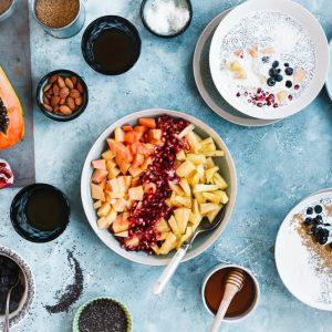 5 desayunos en bowls para empezar el día con energía