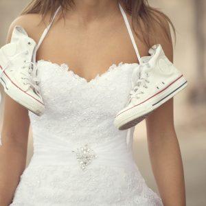 5 zapatos para una novia cómoda y audaz