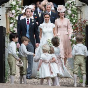 ¿Viste los mejores sombreros de la boda de Pippa Middleton y James Matthews?
