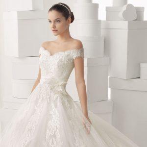 Vestidos off the shoulder para novias: conoce la nueva tendencia