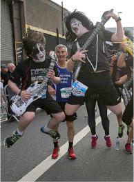 Rock y marathon ¡1ra vez en Lima!