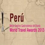 Perú es el primer destino mundial gastronómico