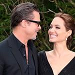 La romántica boda de Brad Pitt y Angelina Jolie