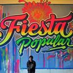 Elliot Túpac en Londres Fiesta Popular en Notting Hill