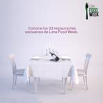 Lima Food Week la Semana de los Restaurantes
