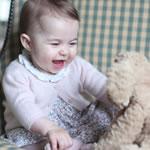 Imágenes inéditas de la princesa Charlotte