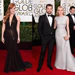 Los vestidos de los Golden Globe Awards